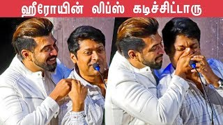 """JOLLY: Director BLACKMAILS """"Scared"""" Arun Vijay on Stage 