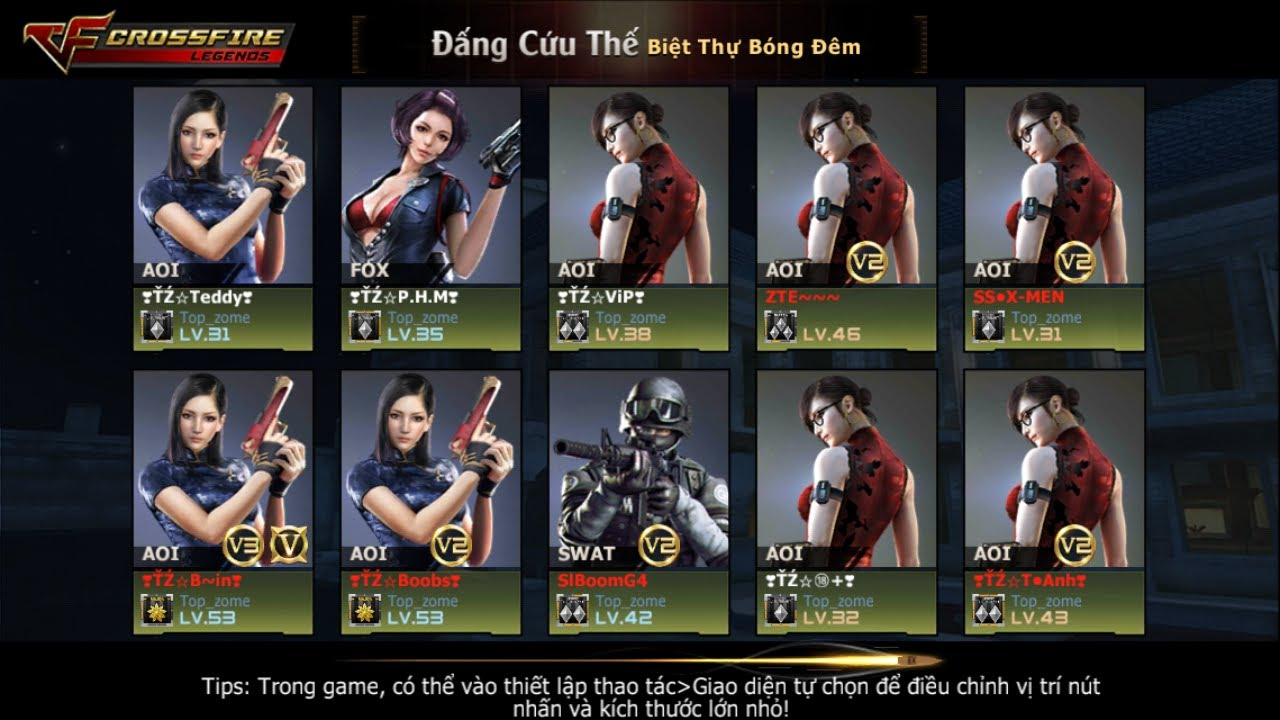 CF MOBILE VN:game show bựa cùng anh em top zome