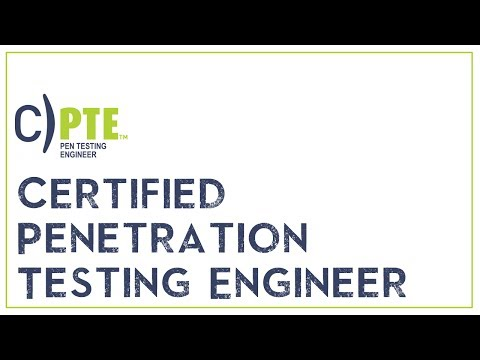 Certified Penetration Testing Engineer Mile2 CPTE Certificate