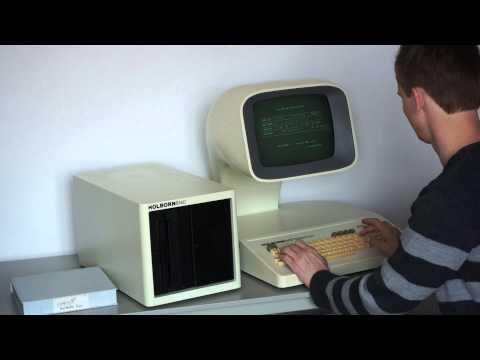Holborn 6100 Z80 vintage computer