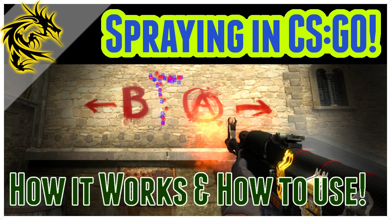 how to spray any rifle in cs go ak a a get good at cs go how to spray any rifle in cs go ak a1 a4 get good at cs go