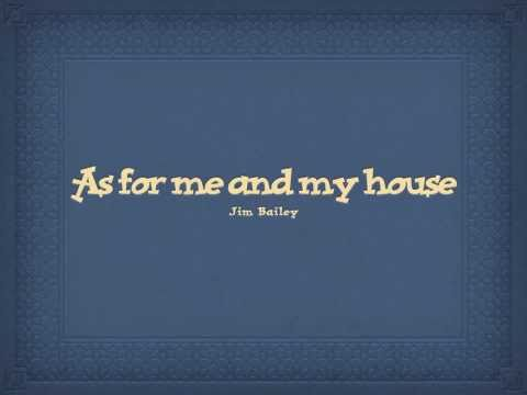 As for me and my house (with Lyrics)