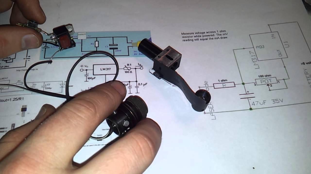 Лазер с привода своими руками