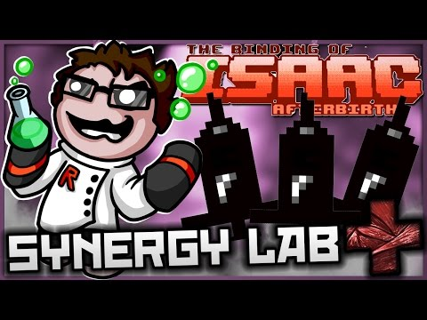 The Binding of Isaac: Afterbirth+ - Synergy Lab: ULTIMATE EUTHANASIA, ULTIMATE BEES!