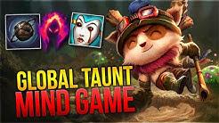 Global Taunt Mind Game! Teemo Toplane [League of Legends] [Deutsch / German]