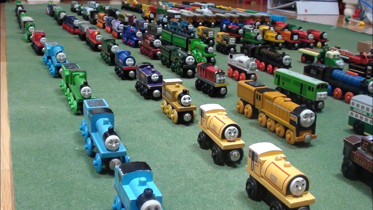 Woodenrailwaystudio S Thomas Wooden Railway Collection 2