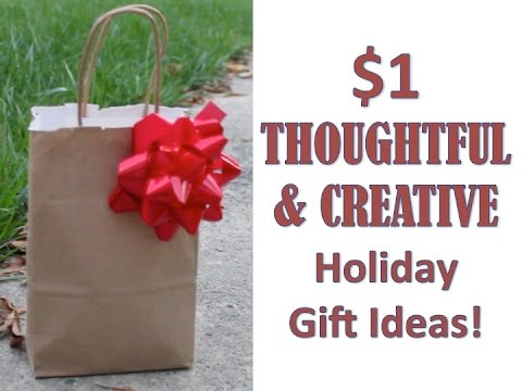 $1 HOLIDAY GIFT IDEAS | DIY Christmas Gift Collab - YouTube