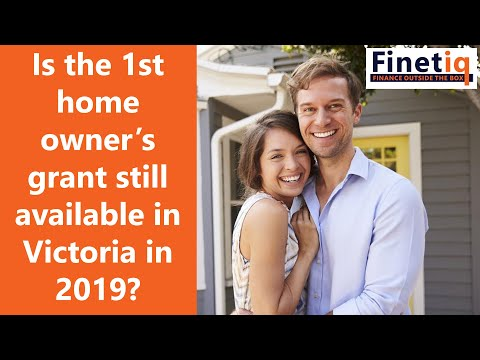 First Home Owners Grant Victoria 2019