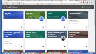 Google Classroom-instruktion - lärare