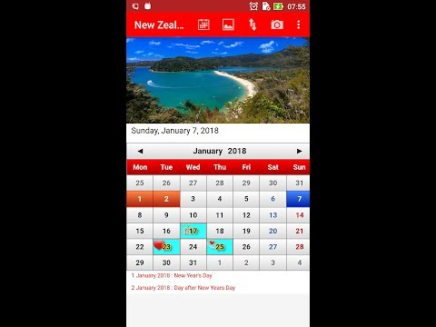 new zealand calendar apps on google play