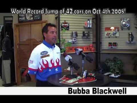 Bubba Blackwell: 42 Car Jump! Press Announcement
