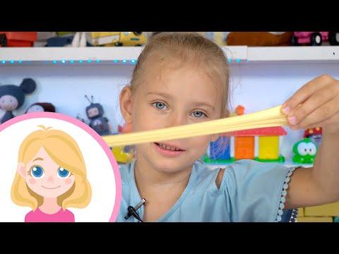 Маленькая Вера - Делаем слаймы и играем в Poopsie Slime Surprise