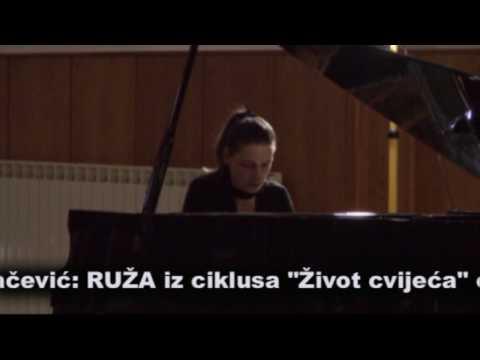 ROSE from Life of flowers op.19 by D. Pejačević- Vinka Burić