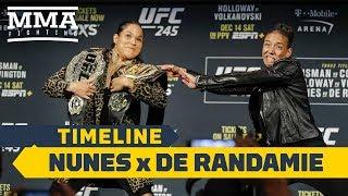UFC 245 Timeline: Amanda Nunes vs. Germaine de Randamie - MMA Fighting
