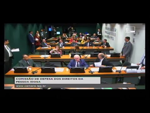 DEFESA DOS DIREITOS DA PESSOA IDOSA - Reunião Deliberativa - 16/05/2018 - 14:44