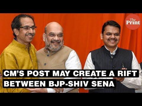 The CM's post may create a rift between BJP-Shiv Sena as polls draw closer