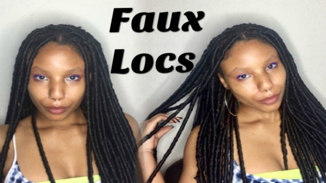 How To: Crochet Faux Locs  No Wrapping, No Cornrows  Easy & Detailed   Naturalreign