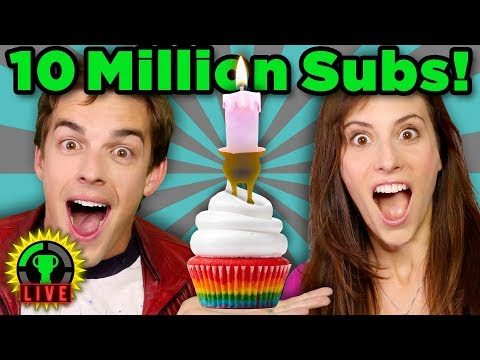 10 Million Subscribers LIVE! + GT 7 Year Anniversary! | Candleman The Complete Journey