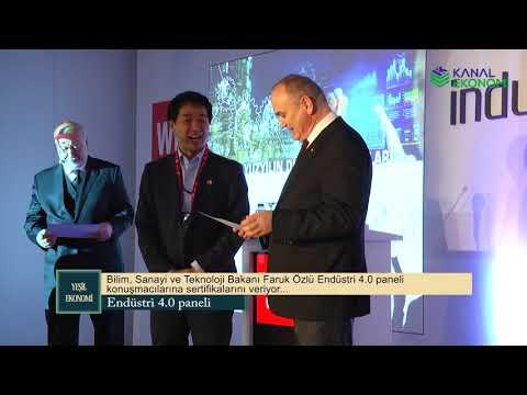 Bilim Sanayi ve Teknoloji Bakanı Faruk Özlü Endüstri 4.0 Panelinde