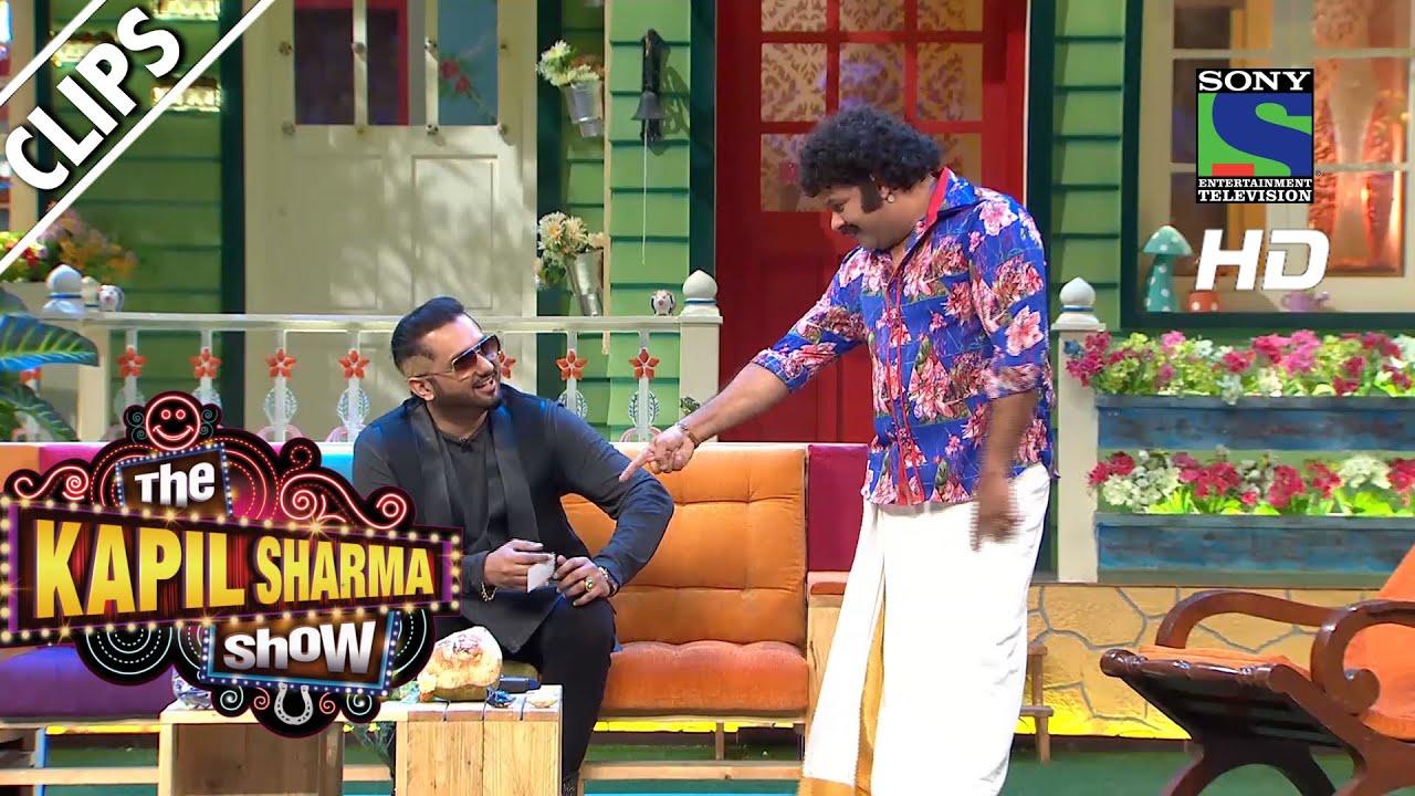 Yo Yo Honey Singh gives Mohan Competition - The Kapil Sharma Show - Episode  3 - 30th April 2016