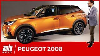 Peugeot 2008 (2019) : le SUV grandit et se convertit à l'électrique