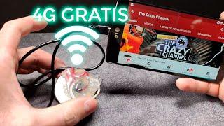 INTERNET 4G GRATIS en tu móvil  | Free internet | 4G Hack | El secreto de las compañías telefónicas