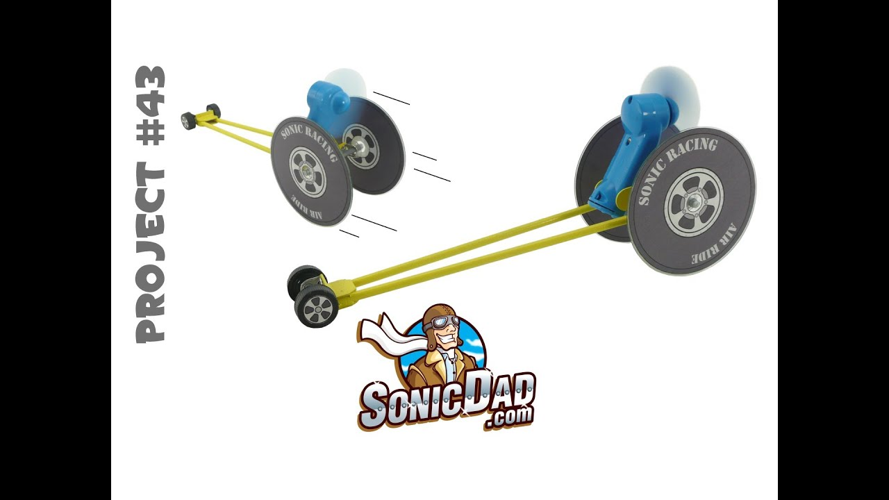 Make a Race Car from Old CDs - SonicDad Project #43 (Sonic ...