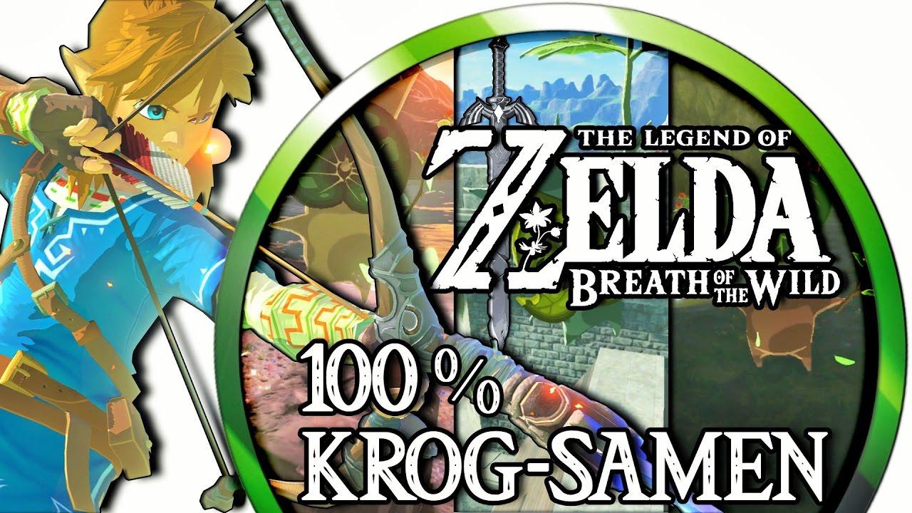 zelda breath of the wild krog samen karte Zelda Breath of the Wild ▻ 100% Krog Samen/Korok Seeds: Turm der