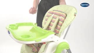 Стульчик для кормления Sweet Baby Royal(Презентация стульчика для кормления Sweet Baby Royal., 2016-06-20T09:31:07.000Z)