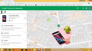 Como localizar un celular por Google Maps
