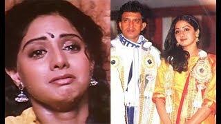 Sridevi Unknown Struggled Marriage Life With Mithun Chakraborty