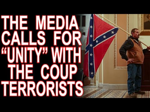 "The Media Calls For ""Unity"" With The Capitol Hill Terrorists (Audio Stream)"