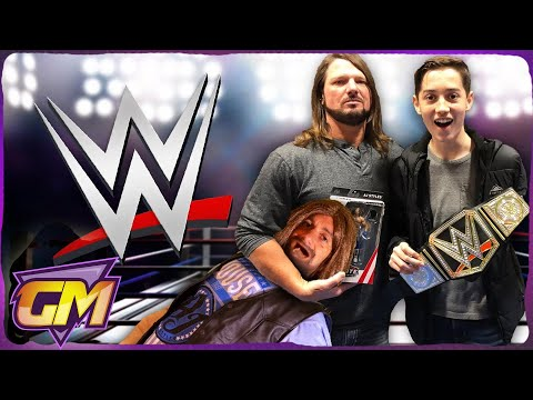 OMG! My Dad Vs WWE Wrestler AJ Styles!! - Epic Kids Parody