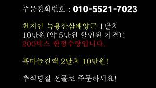 [추석명절선물] 천지인 녹용산삼배양근과 메나리 흑마늘진…