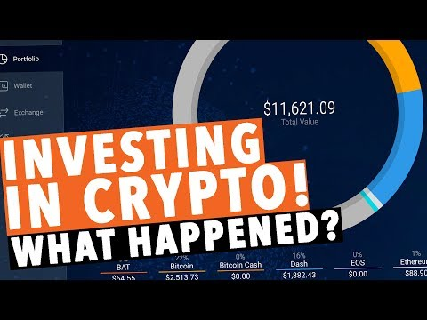Investing in CryptoCurrency! WHAT HAPPENED!