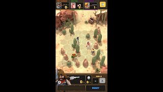 Pocket Cowboys: Wild West Standoff (by Foxglove Studios AB) - strategy game for android - gameplay.