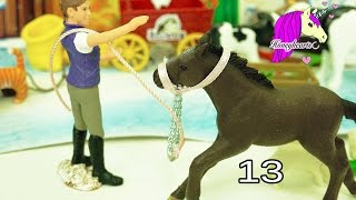 Schleich Horses Christmas Horse Club Advent Calendar + Playmobil Surprise Blind Bag Toys Day 13