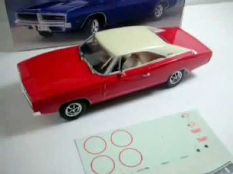 Revell 1969 Dodge Charger Rt Youtube