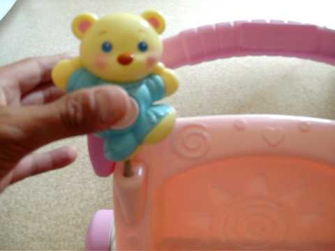 Fisher-Price Pink Stroll Along Walker Demonstratioon