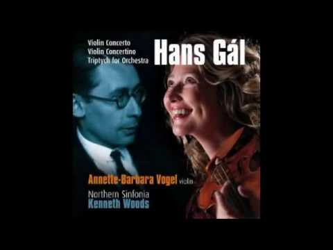 Gal Concertino for Violin and Strings, opus 52