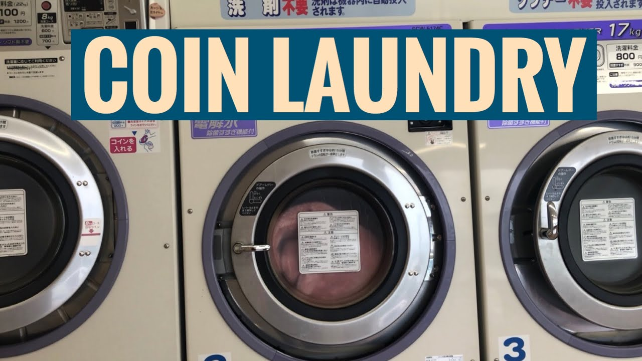 how to operate a coin laundry