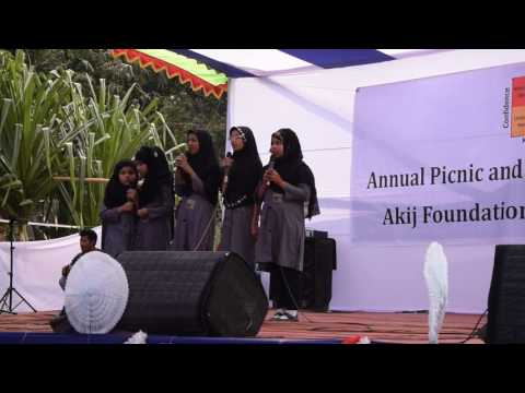 AFSC student performance, Picnic & Cultural Program 2017 (Akij Foundation School and College)