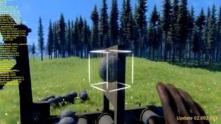 Medieval Engineers - Range Adjusting Catapult