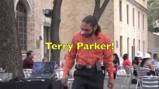 """Terry Parker sings """"Oh What a Night"""" at  HPL"""
