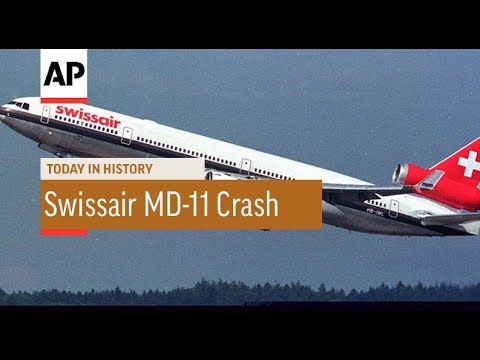 Swissair MD-11 Crash - 1998 | Today In History | 2 Sept 17