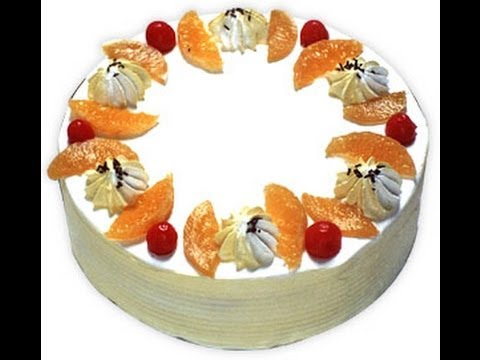 Filling A Cake With Fresh Fruit