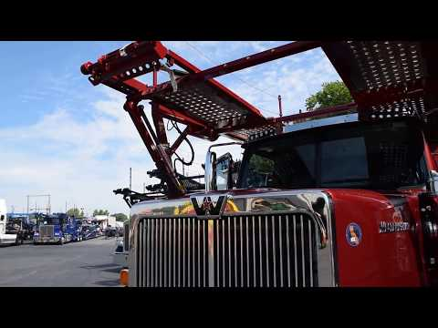 Tour A 2019 Western Star Car Hauler with Cottrell Car Carrier Trailer