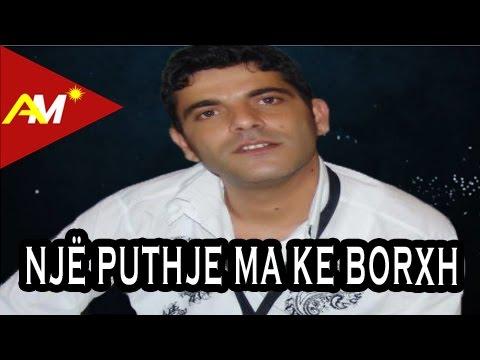 Artan Xhija - Nje puthje borxh me ke (Official Lyrics Video)