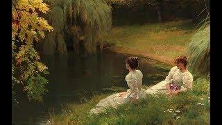 Louis Emile Adan (1839 -1937) French Painter ✽ Francis Goya  - Guitar concerto