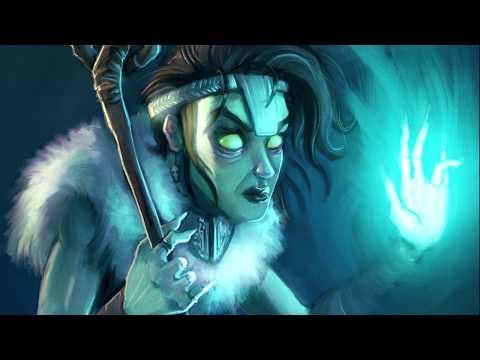 D&D PROCREATE painting time-lapse! ROWENA the Defiler: Divine Soul Sorceress